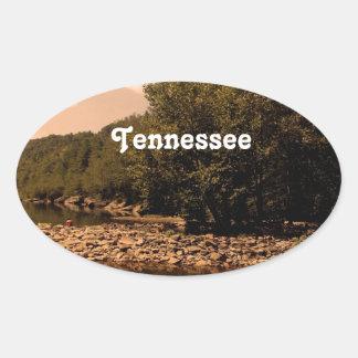 Tennessee Creek Oval Sticker