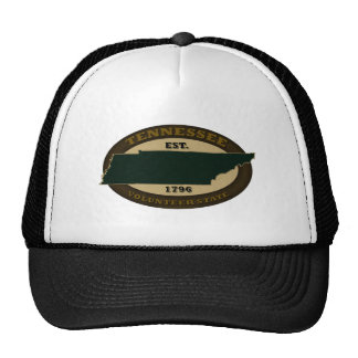 Tennessee Est. 1796 Mesh Hats