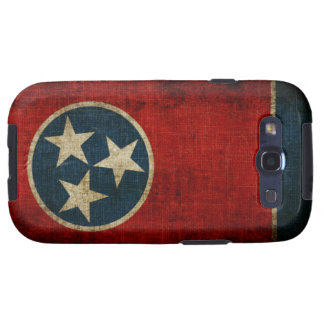 Tennessee Flag Galaxy S3 Cases