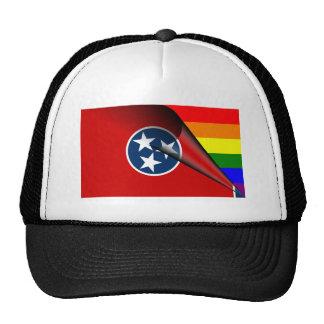 Tennessee Flag Gay Pride Rainbow Cap