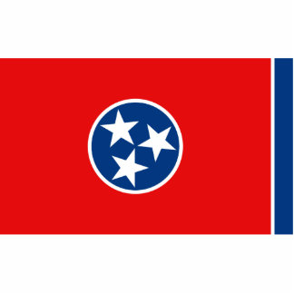 Tennessee Flag Magnet Cut Out