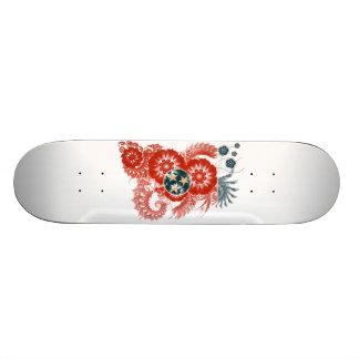 Tennessee Flag Skate Board