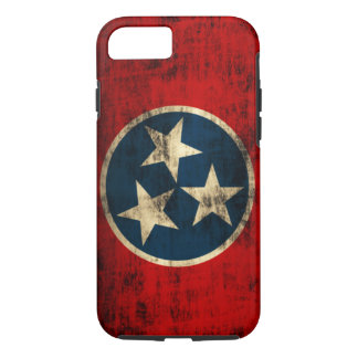 Tennessee Flag Vintage Grunge iPhone 8/7 Case