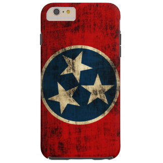 Tennessee Flag Vintage Grunge Tough iPhone 6 Plus Case