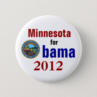 Tennessee for Obama 2012 6 Cm Round Badge