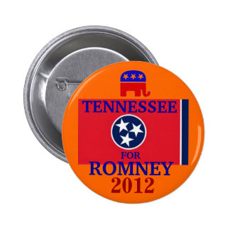 Tennessee for Romney 2012 Pins