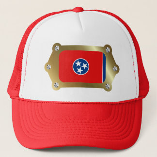 Tennessee framed Flag Hat