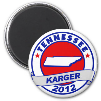 Tennessee Fred Karger 6 Cm Round Magnet