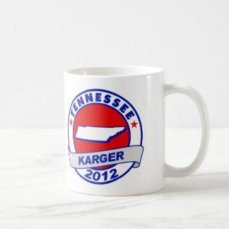 Tennessee Fred Karger Basic White Mug