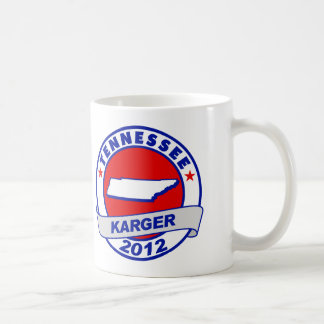 Tennessee Fred Karger Mug