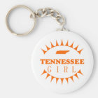 Tennessee Girl Keychain