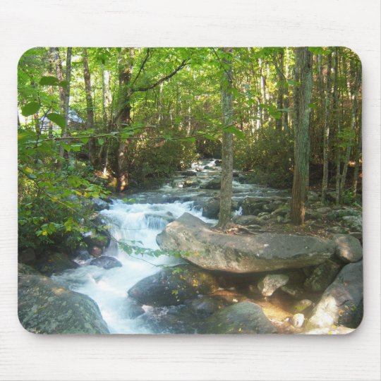 Tennessee Great Smoky Mountains Park scenic view Mouse Mat