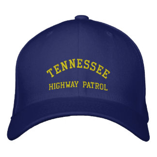 TENNESSEE, HIGHWAY PATROL EMBROIDERED HAT