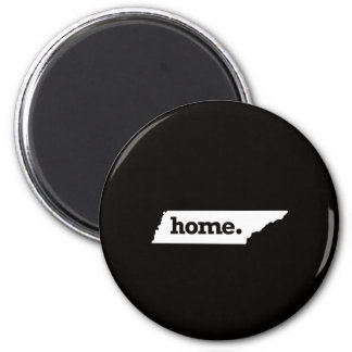 Tennessee Home 6 Cm Round Magnet