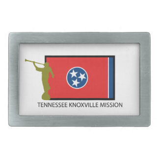 TENNESSEE KNOXVILLE MISSION LDS CTR BELT BUCKLE