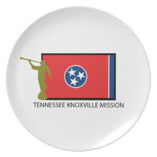 TENNESSEE KNOXVILLE MISSION LDS CTR PARTY PLATES