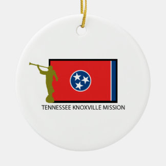TENNESSEE KNOXVILLE MISSION LDS CTR ROUND CERAMIC DECORATION