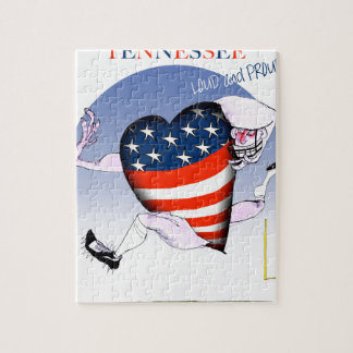 tennessee loud and proud, tony fernandes jigsaw puzzle