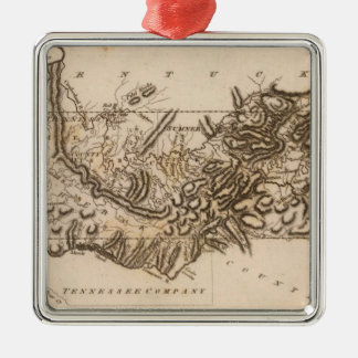 Tennessee Map by Arrowsmith Christmas Ornament