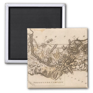 Tennessee Map by Arrowsmith Square Magnet
