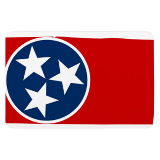 TENNESSEE MAP FLEXIBLE MAGNET