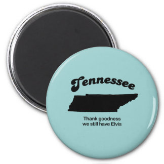 Tennessee Motto - Thank goodness 6 Cm Round Magnet