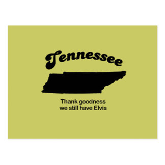Tennessee Motto - Thank goodness Postcard