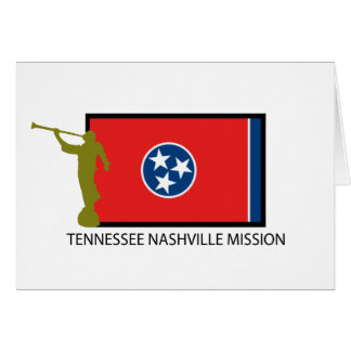 TENNESSEE NASHVILLE MISSION LDS CTR GREETING CARD
