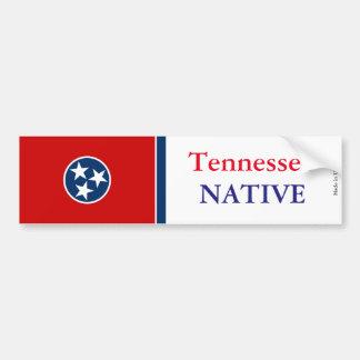 Tennessee Native Bumper Sticker