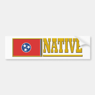Tennessee Native Bumper Sticker
