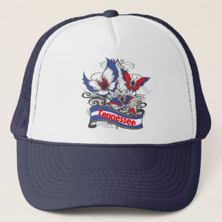 Tennessee Patriotism Butterfly Trucker Hat