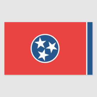Tennessee Rectangular Sticker