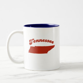 TENNESSEE Red State Two-Tone Coffee Mug