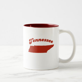 TENNESSEE Red State Two-Tone Mug