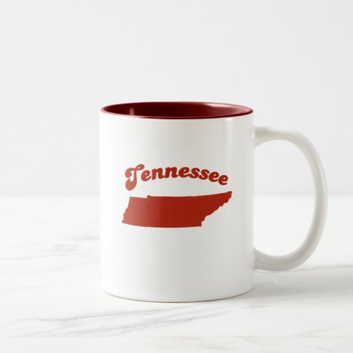 TENNESSEE Red State Coffee Mugs