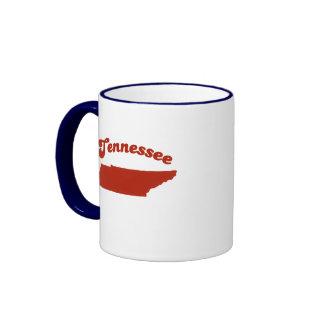 TENNESSEE Red State Ringer Mug