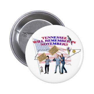 Tennessee - Return Congress to the People! 6 Cm Round Badge