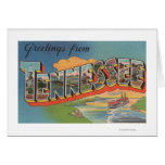 Tennessee (Riverboat Scene) Greeting Card