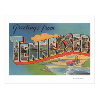Tennessee Riverboat Scene Post Card