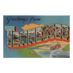Tennessee (Riverboat Scene) Poster
