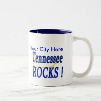 Tennessee Rocks ! Two-Tone Mug