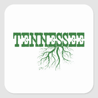 Tennessee Roots Square Sticker