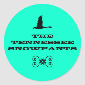 Tennessee Snowpants stickers