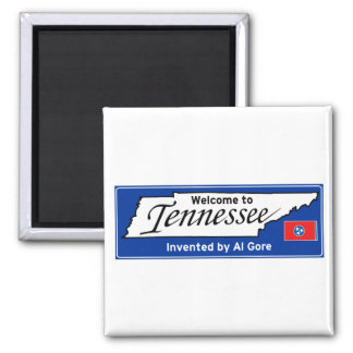 Tennessee Square Magnet