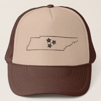 Tennessee State and Stars Trucker Hat