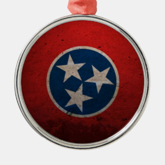Tennessee State Flag Christmas Ornament
