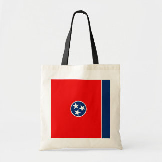 Tennessee State Flag Design Budget Tote Bag
