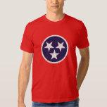 Tennessee State Flag Grunge Nashville Love Tee Shirt