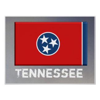 Tennessee State Flag -- Poster