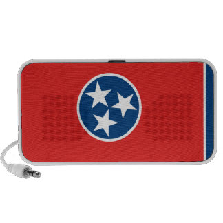 Tennessee State Flag Notebook Speakers